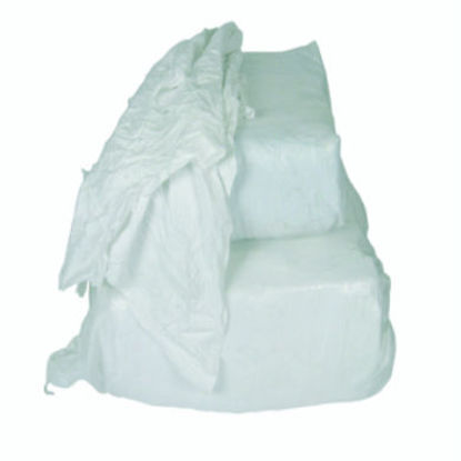 Billede af Linnedklude, Hvid - 10 kg. (pudseklude)