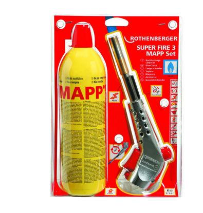 Billede af Super Fire 3 MAPP gasvarmesæt