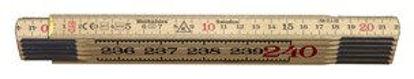 Billede af Hultafors tommestok 240 cm, træ, 59-2.4-12