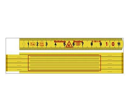 Billede af Hultafors tommestok 1 meter glasfiber