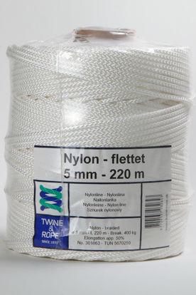 Billede af Nylonsnor 5,0 mm x 220 mtr.