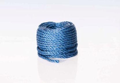 Billede af Polyreb blå 8 mm x 20 mtr