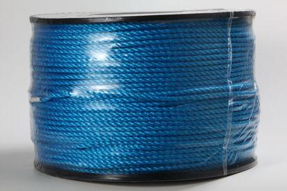 Billede af Polyreb blå 6 mm x 375 mtr.