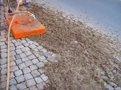 """Billede af Optimas Stenfugerenser """"Fugenhexe"""""""