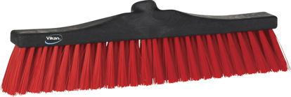 Billede af Villakost 40cm plast røde børster - 638950