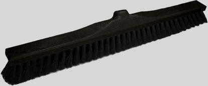 Billede af Skolekost 60 cm bløde sorte hår (S.gevind)                                    638870