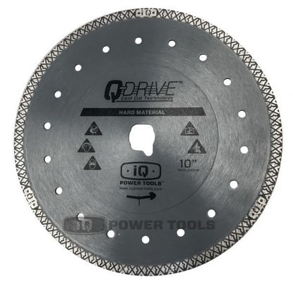 "Billede af IQ Powertools Q-Drive Hard Diamantklinge 10""/254mm (Keramik/Granit)"