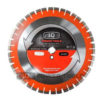 """Billede af IQ Powertools Q-Drive Ultimate Silent Diamantklinge 14""""/355mm Beton"""