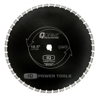 "Billede af IQ Powertools Q-Drive Diamantklinge 16,5""/420mm Combo Mursten/Beton"