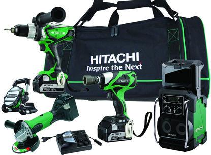 Billede af Hitachi kombisæt 5 maskiner 5,0 AH