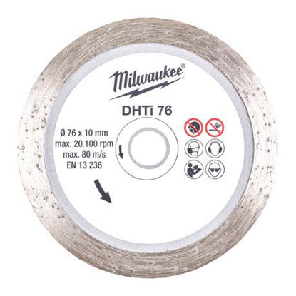 Billede af Milwaukee Diamantklinge DHTS 76 mm t/ Multiskæremaskine FCOT