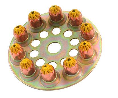 Billede af Spit patron, gul, middel (100 stk)