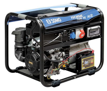 Billede af SDMO Technic 7500 TE Generator
