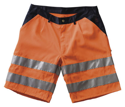 Billede af Lido shorts, orange/marine C54