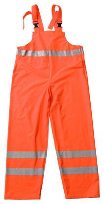 Billede af Regnoveralls Comfort orange m/refleks XL