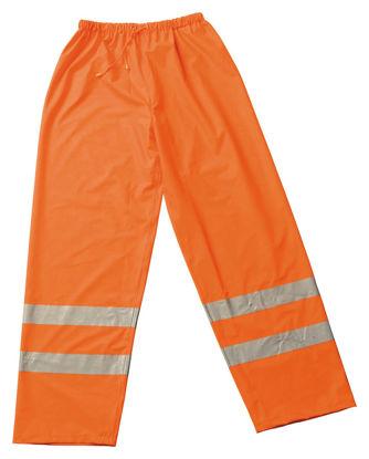 Billede af Regnbuks Comfort orange m/refleks, str. XL