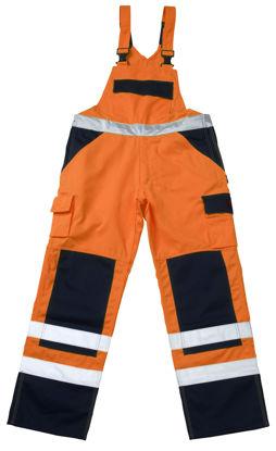 Billede af Barras overall, orange/marine, str.