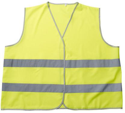 Billede af Weyburn trafikvest, fluo gul, str. M/L