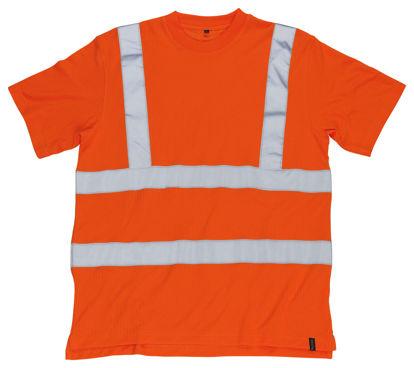 Billede af Roblin T-shirt, orange, str. XL