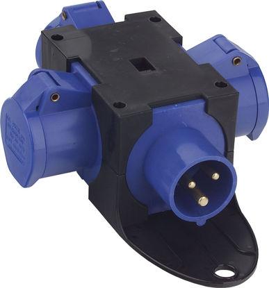 Billede af Kompaktforgrener Type B, blå