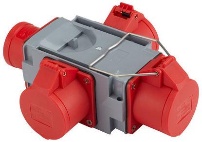 Billede af Kompaktforgrener Type A, 16Ah rød