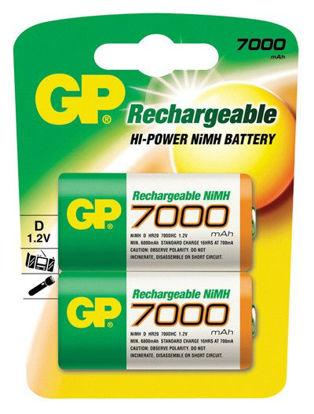 Billede af Batteri R20/D, genopladelig 8500mah