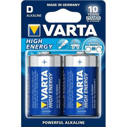 Billede af Batteri LR20/D Alkaline, pk. á 2 stk.