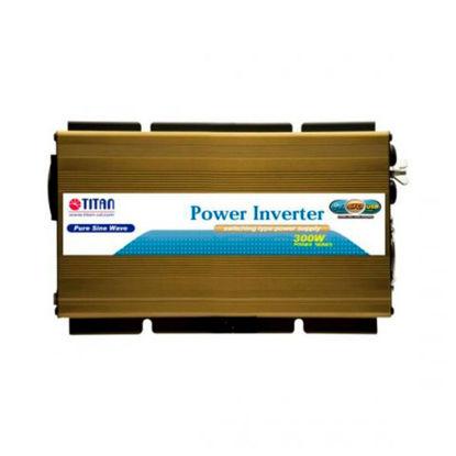 Billede af Titan Inverter 300W ren sinus - 12V -> 230V