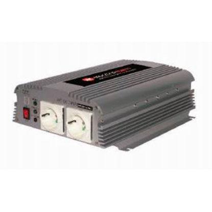 Billede af Electromem Inverter 1000W mod. sinus - 12V -> 230V