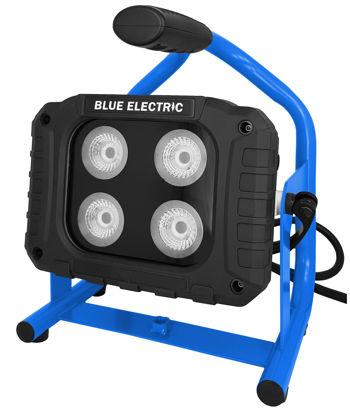 Billede af Blue Electric Multi HYBRID LED Arbejdslampe - 40 W  (HUSK ADAPTER )