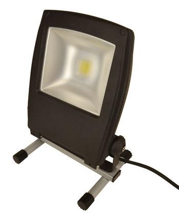 Billede af Arbejdslampe LED, 50W/3750 Lumen, på fod.