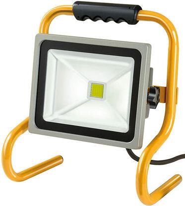 Billede af Arbejdslampe LED Slimline 10 W inkl. sensor og remote
