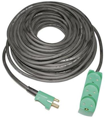 Billede af Kabelsæt 25 meter m/3 stikdåse - 3x1,5 mm2
