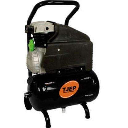 Billede af TJEP kompressor 10/250-1, 10 bar/210 l/min. 10l. tank
