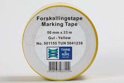 Billede af Forskallingstape gul 50 mm x 33 mtr.