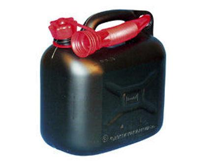 Billede af Benzindunk sort 5 liter
