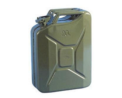Billede af Jerry Can benzindunk 10 liter, Grøn