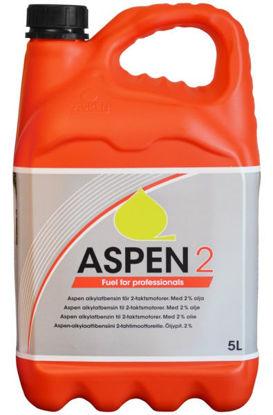 Billede af Aspen Benzin 2-takt, 5 liter, 'Rød'