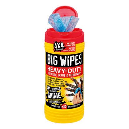 Billede af Big Wipes HEAVY-DUTY renseserviet, 80 stk