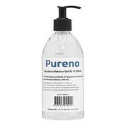 Billede af Pureno Hånd Desinfiktion Gel 85% 500 ml m/Pumpe