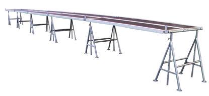 Billede af JUMBO Murerbukkesæt 1,20 x 15,30 m, 200 kg/m2.