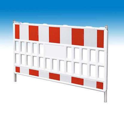 Billede af Müba afspærringshegn PVC 2,0 mtr x 1,0 mtr
