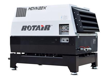 Billede af Rotair Mobilkompressor MDVN 22 K - Skid version