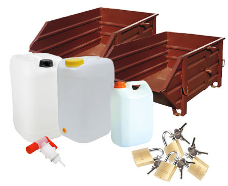 Billede til varegruppe Skurvogne og containere
