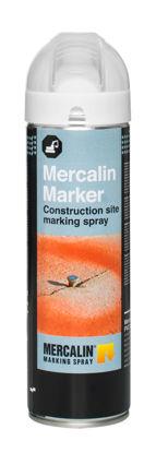 Billede af Mercalin FL mærkespray hvid floureserende