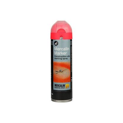 Billede af Mercalin FL mærkespray rød floureserende