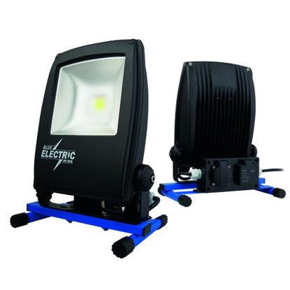 Billede af Arbejdslampe LED, 30W/3100 Lumen, på fod.